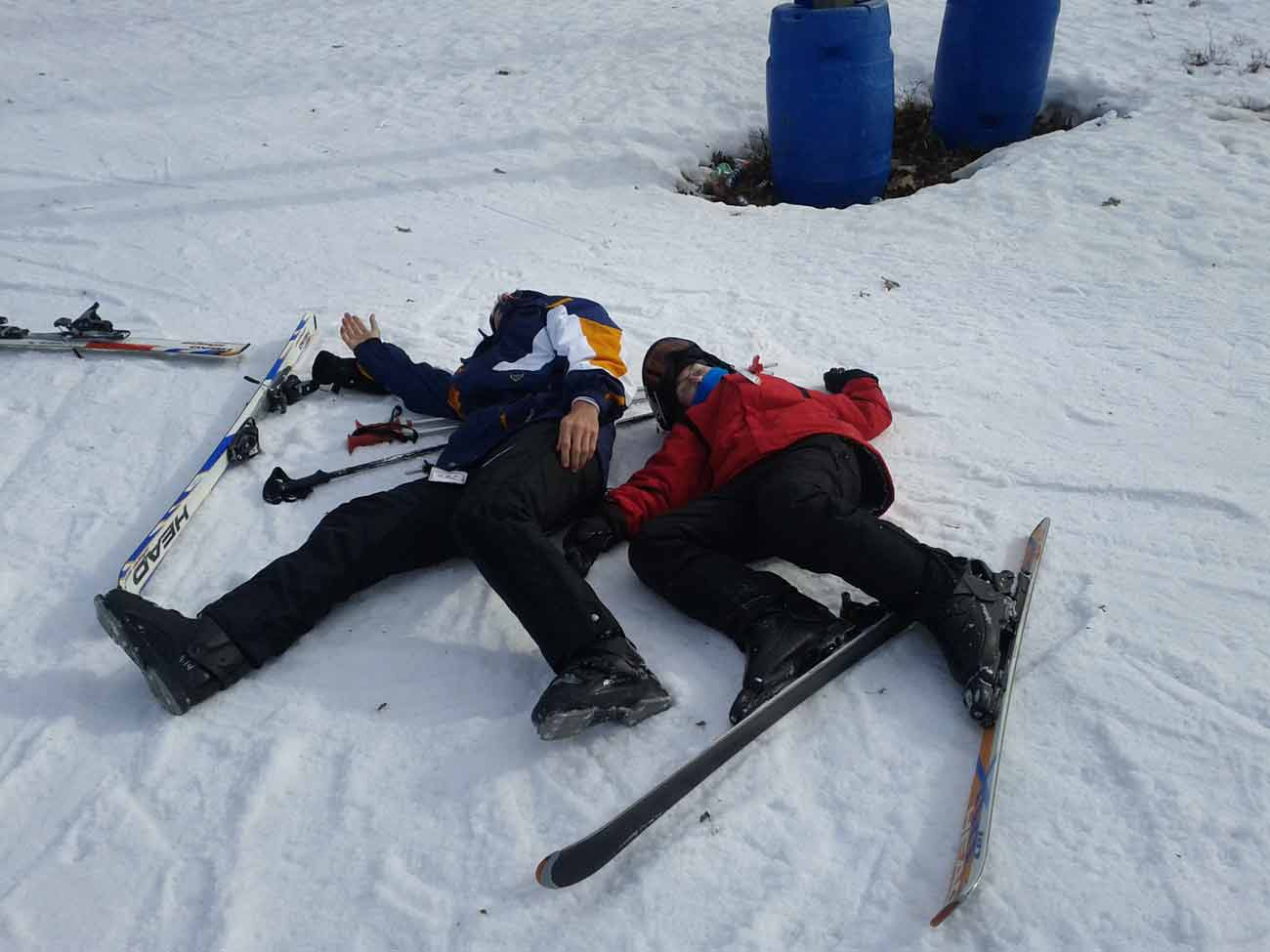 Ski Trip From _ _ _ _